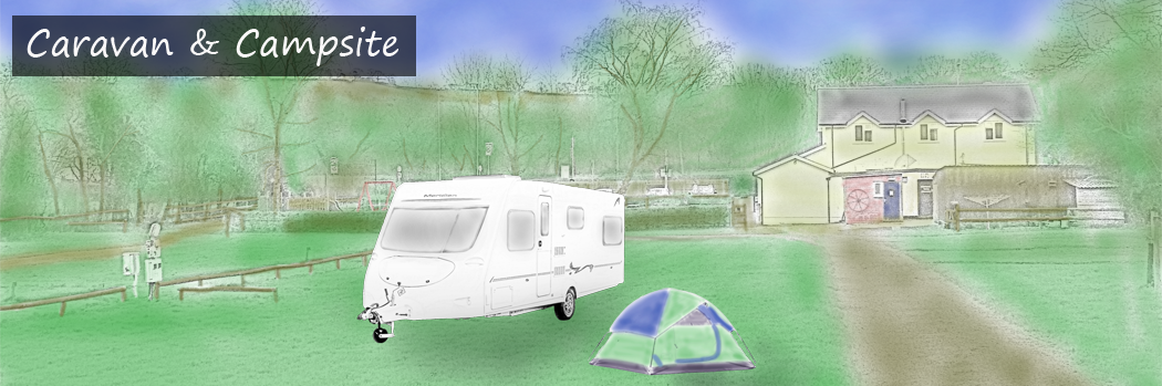 Caravan and Campsite in Pandy, near Abergavenny in Monmouthshire
