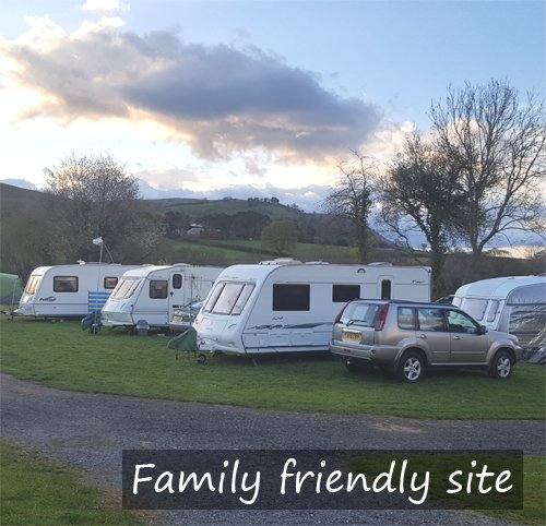 caravan and campsite in pandy near abergavenny and hereford. located in monmouthshire